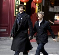 THESE BASTARDS JUST WANT TO SCREW WITH US!  AH Benedict and Martin, why must you torture us so??
