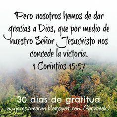 Mujeres que oran 1 Corinthians, Give Thanks, Gratitude
