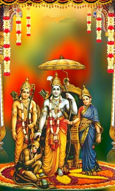 Shri Hanuman, Krishna, Shri Ram Wallpaper, Sita Ram, Lord Vishnu Wallpapers, Sri Rama, 4k Wallpaper For Mobile, Lord Mahadev, Tanjore Painting