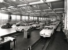 Alfa Romeo assembly line