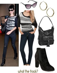 What the Frock? - Affordable Fashion Tips and Trends: Celebrity Look for Less: Krysten Ritter Style