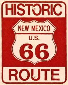Route 66 Photograph - Historic Route 66 New Mexico by Wingsdomain Art and Photography
