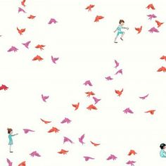 Sarah Jane - Wee Wander - With the Birds in Pink