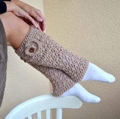 crochet leg warmers boot cuffs