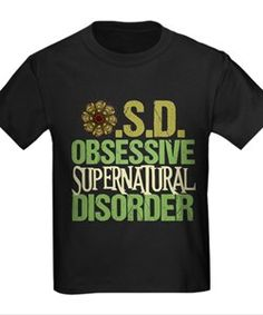 Supernatural Obsessed T for