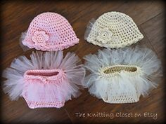 Ravelry: Tutu Diaper Cover and Hat Pattern pattern by Debbie O'Leary