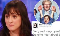 Robin Williams' onscreen daughter Mara Wilson leads tributes to star