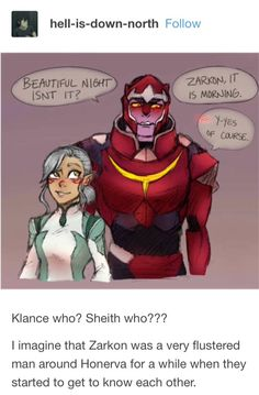 AWE YISS THIS IS SO CUTE ANERVA AND ZARKY