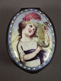 Antique Snuff Box ~ mid to late 1700s
