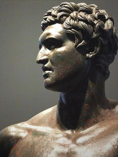 Statue of a prince or dynast without crown, traditionally thought to be a Seleucid prince, maybe Attalus II of Pergamon Bronze Greek Hellenistic era, 3rd-2nd centuries BCE (2)