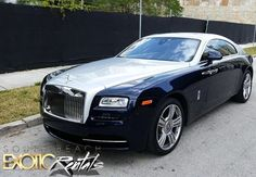 2016 Rolls-Royce Wraith available only at www.SouthBeachExoticRentals.com >> #SouthBeach #RollsRoyce #LuxuryCar #ExoticCar