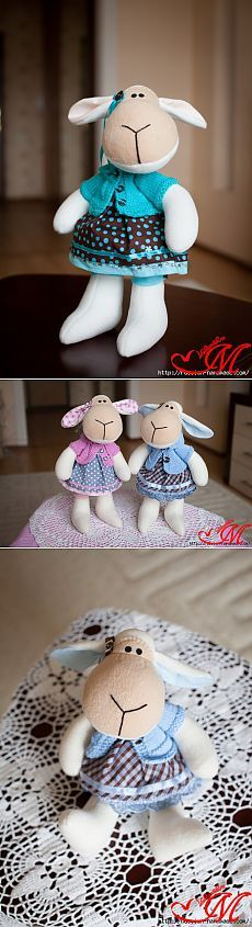 Again excellent lamb with Pattern ... (from internet) / World Toys / Tilda.  classes, master patterns.