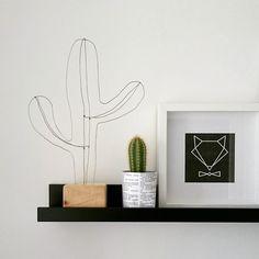 Kaktusz saját készítés! Szobarészlet! Skandináv szoba! Scandinavian room! Decoration! Cactus decor! Fox!