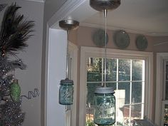 Mason jar pendent lights for the kitchen awesome idea things i mason jar pendent lights for the kitchen awesome idea things i like pinterest jars mason jars and mason jar pendant light aloadofball Choice Image