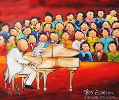 Dikke Dames Het piano concert - Theo Broeren