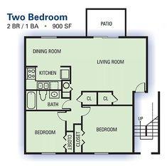 Senior living floor plans 800 sq ft 800 square feet 2 for 900 square feet apartment