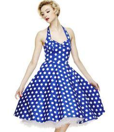Hell Bunny Mariam robe de 50's: Amazon.fr: Vêtements et accessoires