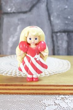Vintage McDonalds Lil Miss Candi Stripes Snap On striped dress Christmas doll happy meal Fast Food Toys 1993 girls toy cake topper Childhood Toys, Childhood Memories, 90s Stuff, 90s Girl, 90s Toys, The Good Old Days, Toys For Girls, Mcdonalds, Striped Dress