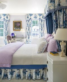 Learn how Carter & Company help to create beautiful and timeless interior spaces that reflect the unique personal style of the homeowners in this interview. French Country Bedrooms, French Country Decorating, French Decor, Elegant Home Decor, Elegant Homes, Modern Decor, Rustic Decor, Blue Bedroom, Bedroom Decor