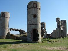 Camaret sur Mer - les ruines du chateau de Saint Pol Roux