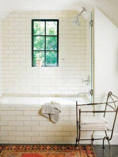 "Amazon.com: White Ceramic Subway Tile 4"" X 12"" (Box of 13 Sqft)- Gloss Finish: Home Improvement"