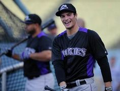 Nolan Arenado. Colorado Rockies. Nothing beats baseball (players).