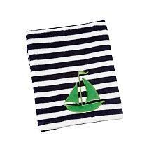 Sadie & Scout - Sailboat Applique Blanket