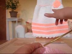 How To Crochet a Dress step-by-step video (1 yo)