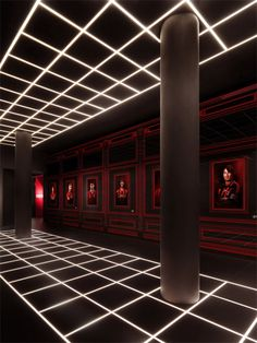 AC Milan headquarters by Fabio Novembre. Italian designer and AC Milan supporter Fabio Novembre has used the football team's red and black colours throughout the interior of the club's new headquarters