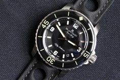 blancpain fifty fathoms tribute.