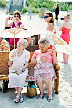this will be me and you at our grandchildren's weddings...