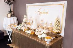 Elegant Gold + White Baptism Party via Kara's Party Ideas KarasPartyIdeas.com #goldandwhitebaptismdesserttable (37)