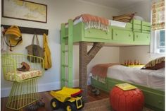 12 cool ideas for shared kids' rooms... my kids will be sharing for a long time. These are sweet!