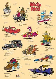 Hanna-Barbera y todos sus cartoons! Classic Cartoon Characters, Cartoon Tv, Classic Cartoons, Vintage Cartoon, Cars Cartoon, Cartoon Crazy, Cartoon Photo, Old School Cartoons, Old Cartoons