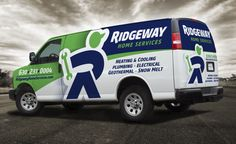 Vehicle wrap design for Ridgeway Home Services located in IL. The best vehicle wraps use simple, eye-catching graphics that are easy to read, as this wrap for Ridgeway shows. The best vehicle wraps use simple, easy-to-read graphics, as this wrap for Goettl Air Conditioning shows. - NJ Advertising Agency, NJ Ad Agency, NJ Web Design, NJ Logo Design | Graphic D-Signs, Inc. #plumbing #truckwraps #advertising #design #graphicdesign #vehiclewraps