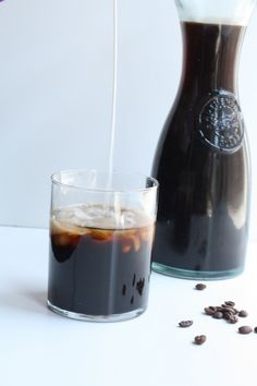 THE iced coffee! It doesn't get diluted when you ice it because it's concentrated.
