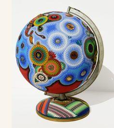 Beadist Jan Schwab Huling transforms ordinary objects into beautiful works of art.