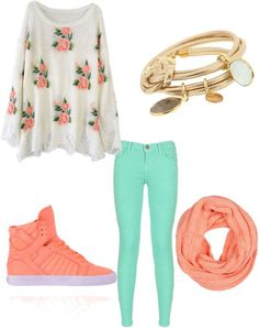 """Untitled #19"" by abbyann-harrison ❤ on Polyvore  I'd wear this with vans instead... but so in love."
