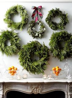 Keeping It Simple: Evergreen Wreaths