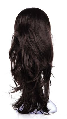 OneDor Slight Wavy Head Japanese Synthetic Kanekalon Hair Wig with Combs Buy Wigs, Half Wigs, Kanekalon Hair, Synthetic Wigs, Wig Hairstyles, Curly Hair Styles, Hair Care, Hair Color, Lady
