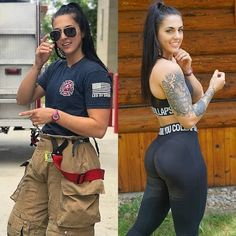 22 Badass Babes Who Look Great In and Out of Uniform - Ftw Gallery Sexy Women, Badass Women, Female Firefighter, Volunteer Firefighter, Firefighters, Female Soldier, Army Soldier, Military Women, Girls Uniforms