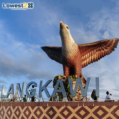 Visit #EagleSquare,a square on #Langkawi near the port where ferries sail in and out.