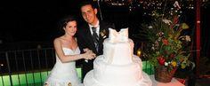 The wedding cake! Tenuta San Pietro - Hotel for wedding in Tuscany - Cutting wedding cake - Hotel for ceremonies in Tuscany - Romantic restaurant in Lucca Wedding Cake Cutting, Hotel Guest, Lucca, Tuscany, Wedding Cakes, Romantic, Restaurant, San, Wedding Dresses
