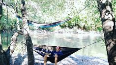 Blessed are the curious for they will find adventure #hammock #kickapoo #creek #jams #kammok #grandtrunk #sundaze #dluke