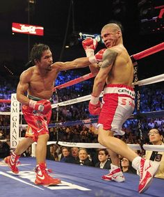 2009-11-14 Manny Pacquiao vs Miguel Cotto, Pacquiao wins by TKO in the 12th round