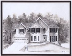 Pencil Drawings Of Old Houses House Drawing I Want To Draw This Pinterest House Drawing Pencil Drawings And Exposure