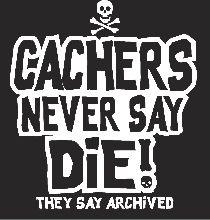 Geocachers never say die