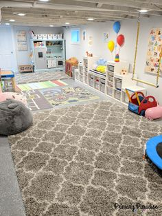 Playroom Ideas For Toddlers Basements