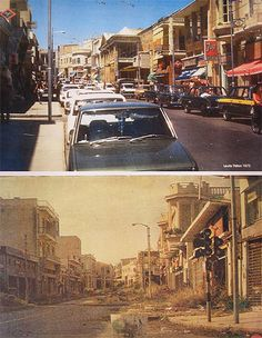 Varosha Cyprus before & after