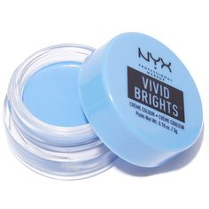 NYX Blueprint Vivid Brights Creme Colour (36 PLN) ❤ liked on Polyvore featuring beauty products, makeup, nyx cosmetics, nyx makeup and nyx